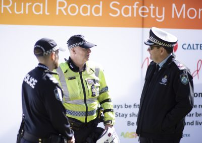 Rural Road Safety Toowoomba 3. QPS