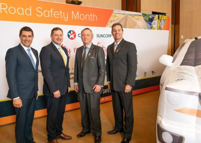 Russell, Co-Chairs Parliamentary Friends of Road Safety, Llew O'Brien, Senator Gallacher, Craig